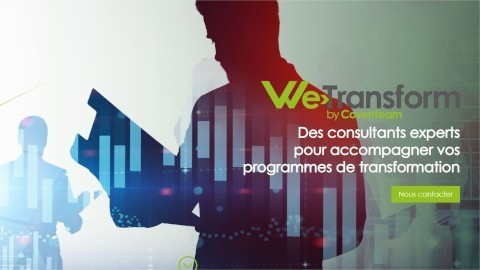 Coventeam renforce son expertise conseil en transformation digitale avec la création de We Transform